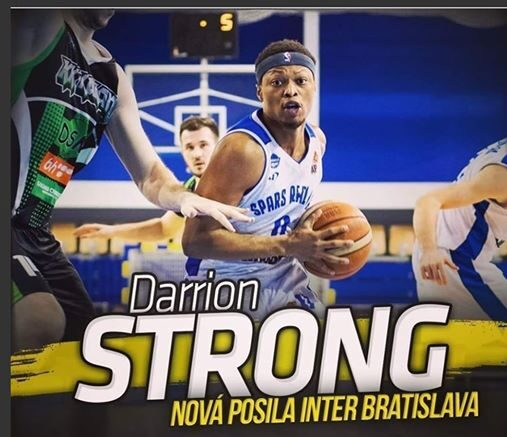 Darrion Strong signs with Slovakian powerhouse Inter Bratislava